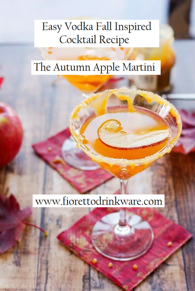 Easy Fall Vodka Cocktail Recipe: the Simple and Warming Fall-inspired Apple Martini
