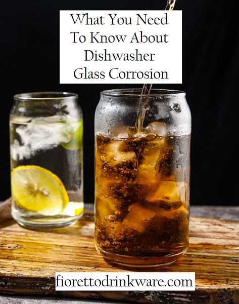 What You Need To Know About Dishwasher Glass Corrosion
