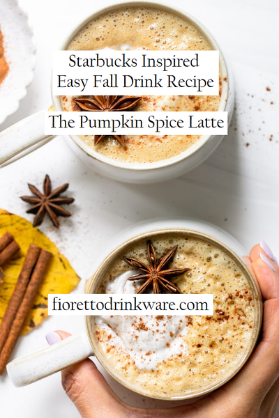 Starbucks Inspired Easy Fall Drink Recipe | The Pumpkin Spice Latte