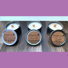 Load image into Gallery viewer, Herb or Crystal Infused Soy Candles
