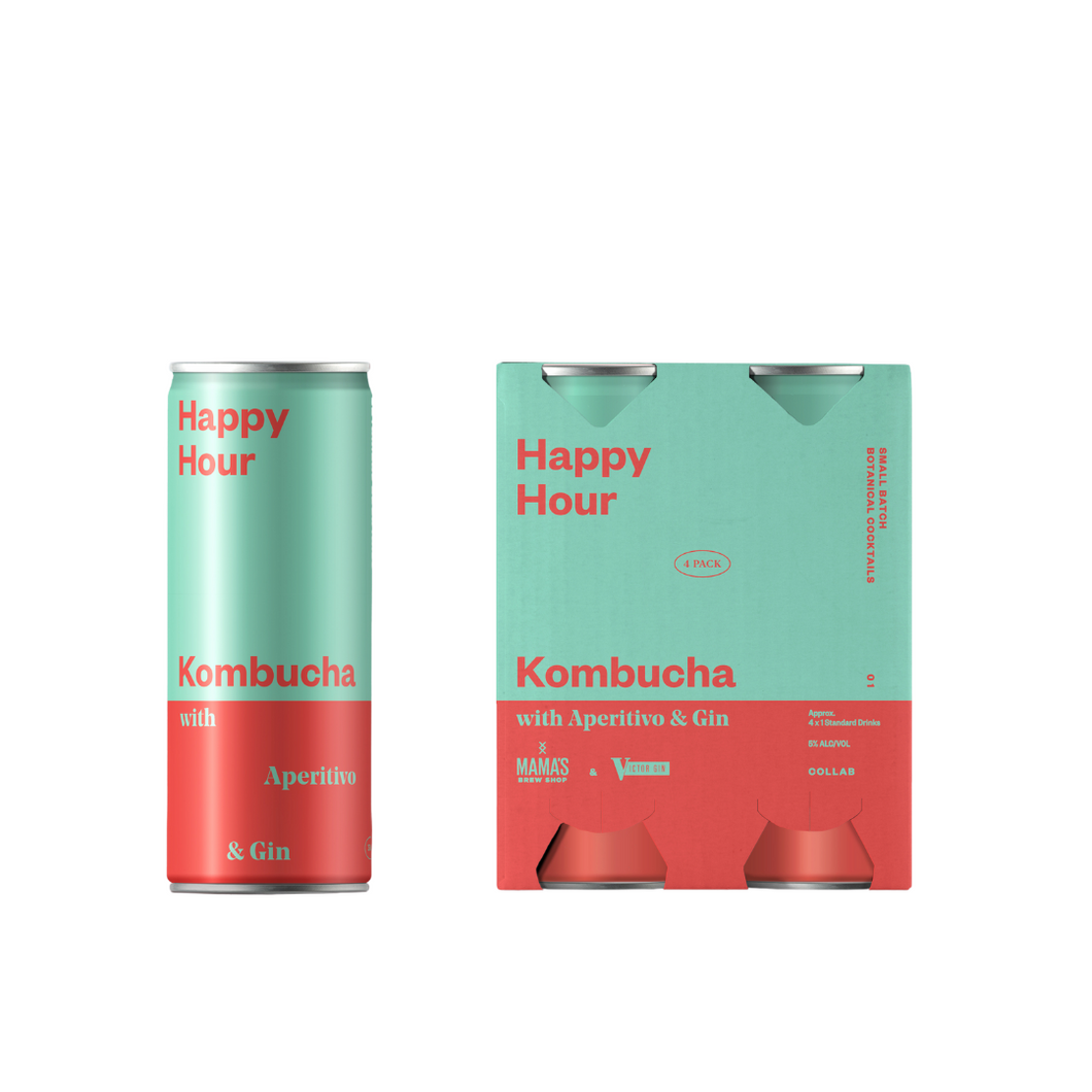 Happy Hour Kombucha Cocktail
