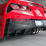 TURBOLOGIC CHEVROLET CORVETTE C7 CARBON CUP HECKDIFFUSOR