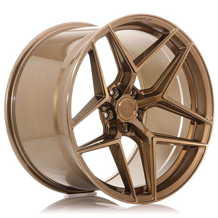 CONCAVER WHEELS - CR2 BRUSHED BRONZE 21 ZOLL