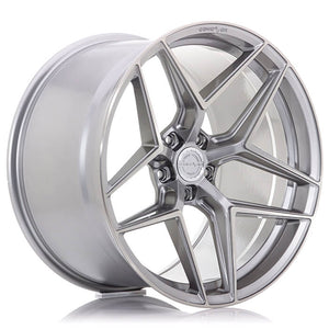 CONCAVER WHEELS - CVR2 BRUSHED TITANIUM 22 ZOLL
