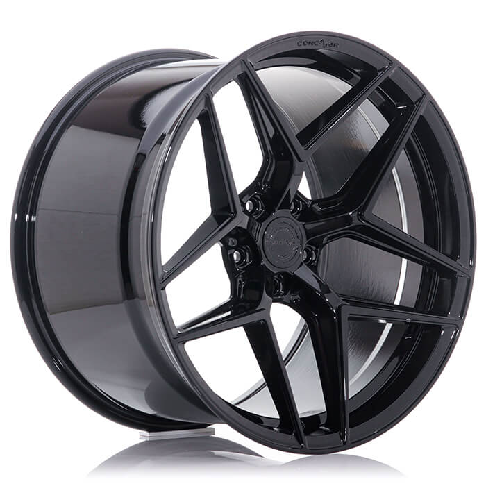 CONCAVER WHEELS - CR2 PLATINUM BLACK 22 ZOLL