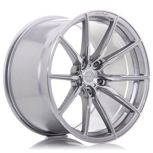 CONCAVER WHEELS - CVR4 BRUSHED TITANIUM 22 ZOLL