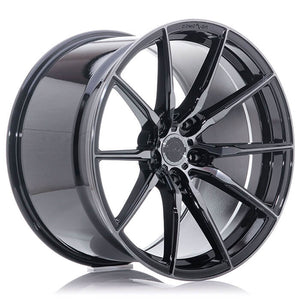 CONCAVER WHEELS - CVR4 DOUBLE TINTED BLACK 22 ZOLL
