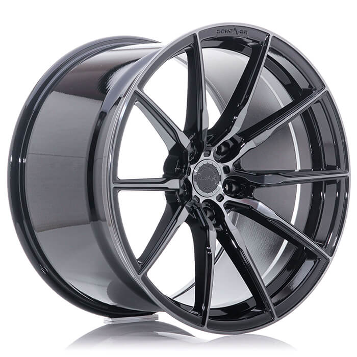 CONCAVER WHEELS - CVR4 DOUBLE TINTED BLACK 20 ZOLL