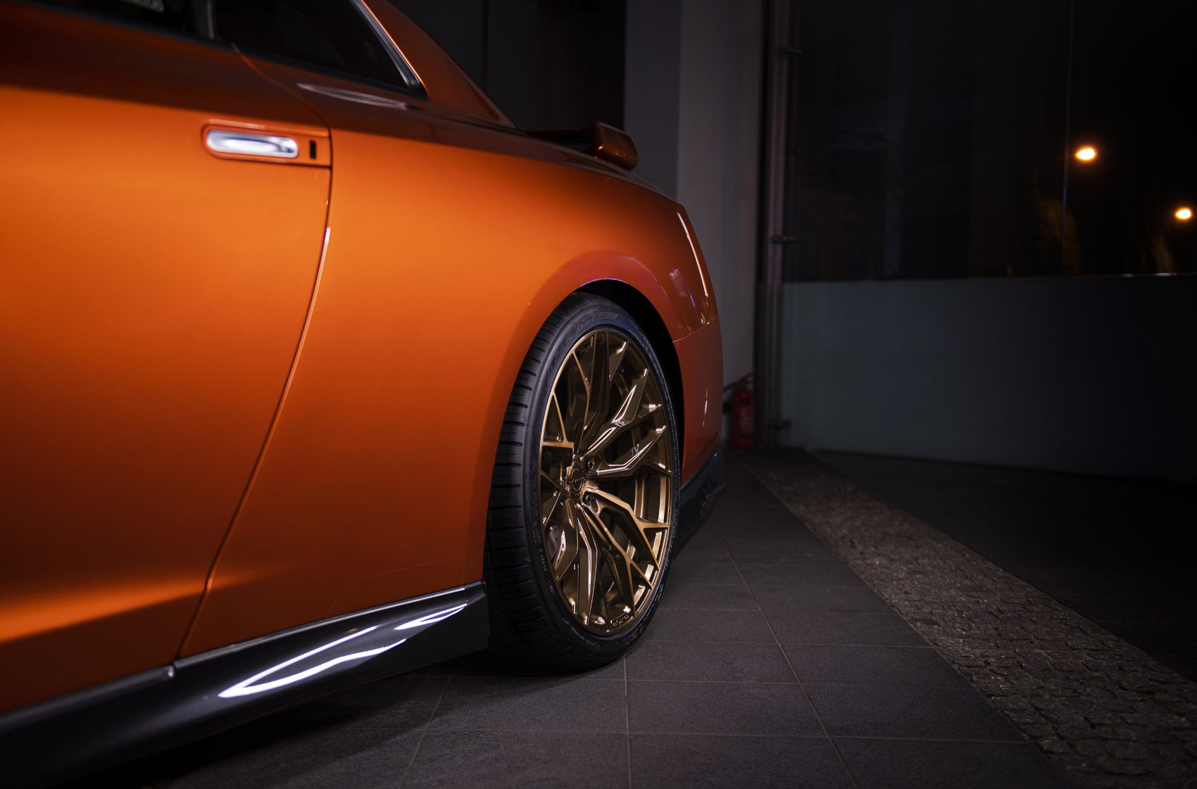 CONCAVER WHEELS - CVR1 BRUSHED BRONZE 22 ZOLL