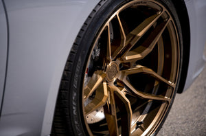 CONCAVER WHEELS - CR3 BRUSHED BRONZE 19 ZOLL