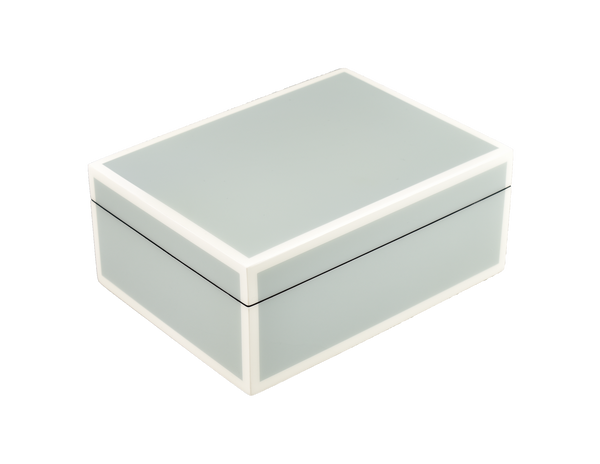 Cool Gray And White - Medium Box - L-21FSCGW