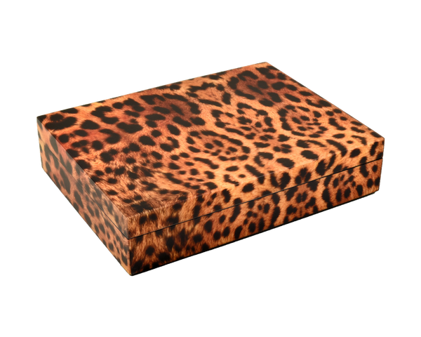 Cheetah- Stationery Box - L-45CHE