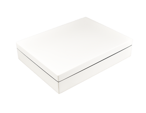 All White Stationery Box
