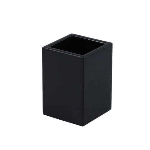 All Black Pencil Cup/Brush Holder