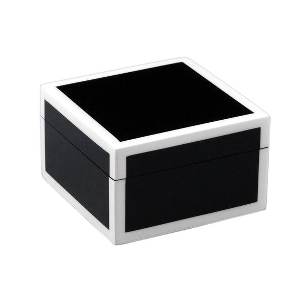 Black And White Square Box