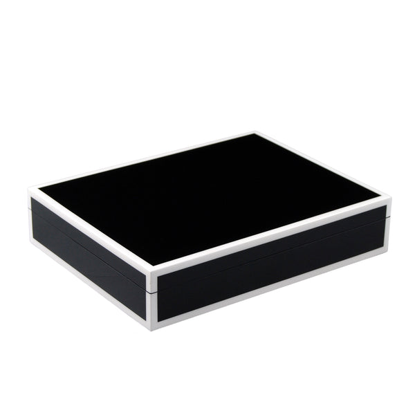 Black And White - Stationery Box - L-45FSBWT
