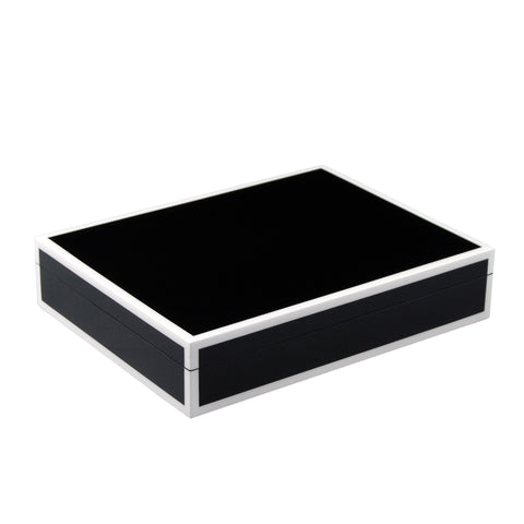 Black And White Stationery Box