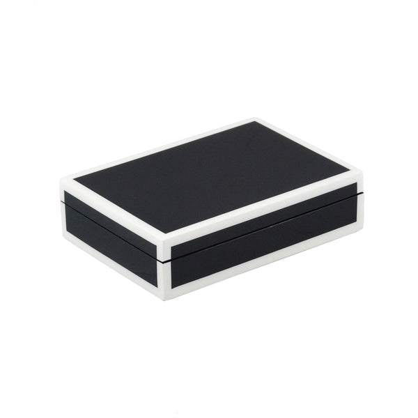 Black And White Playing Card Box