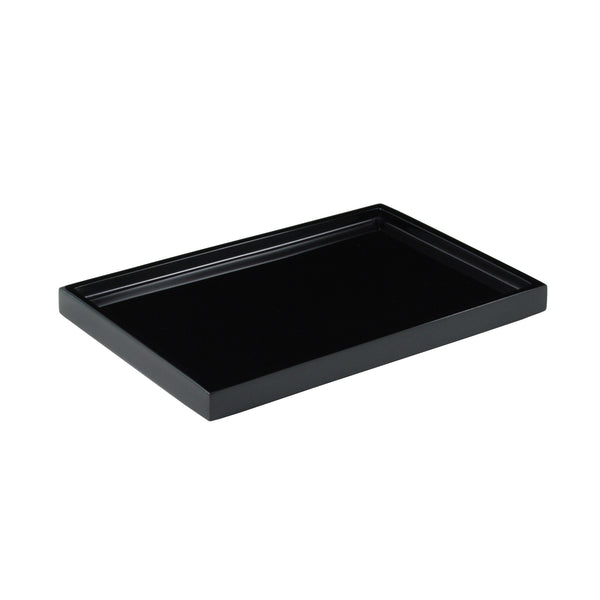 All Black Color Vanity Tray