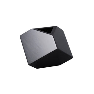 "All Black 5"" SQ Vase"
