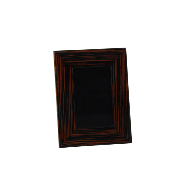 Macassar Ebony Picture Frame, 4