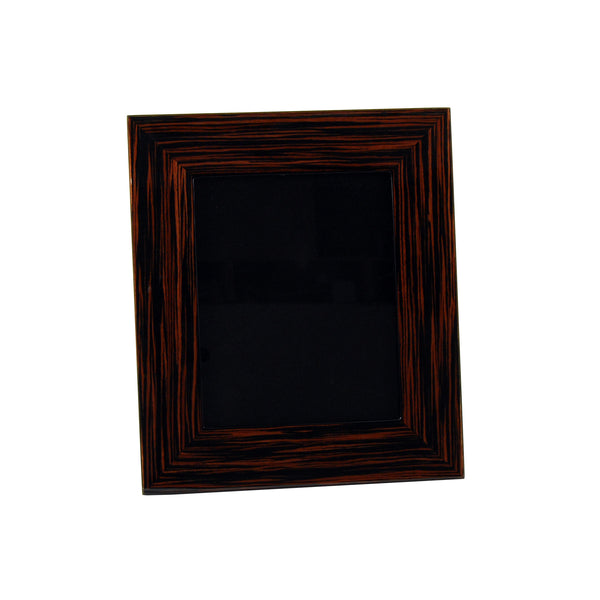 Macassar Ebony Picture Frame, 8