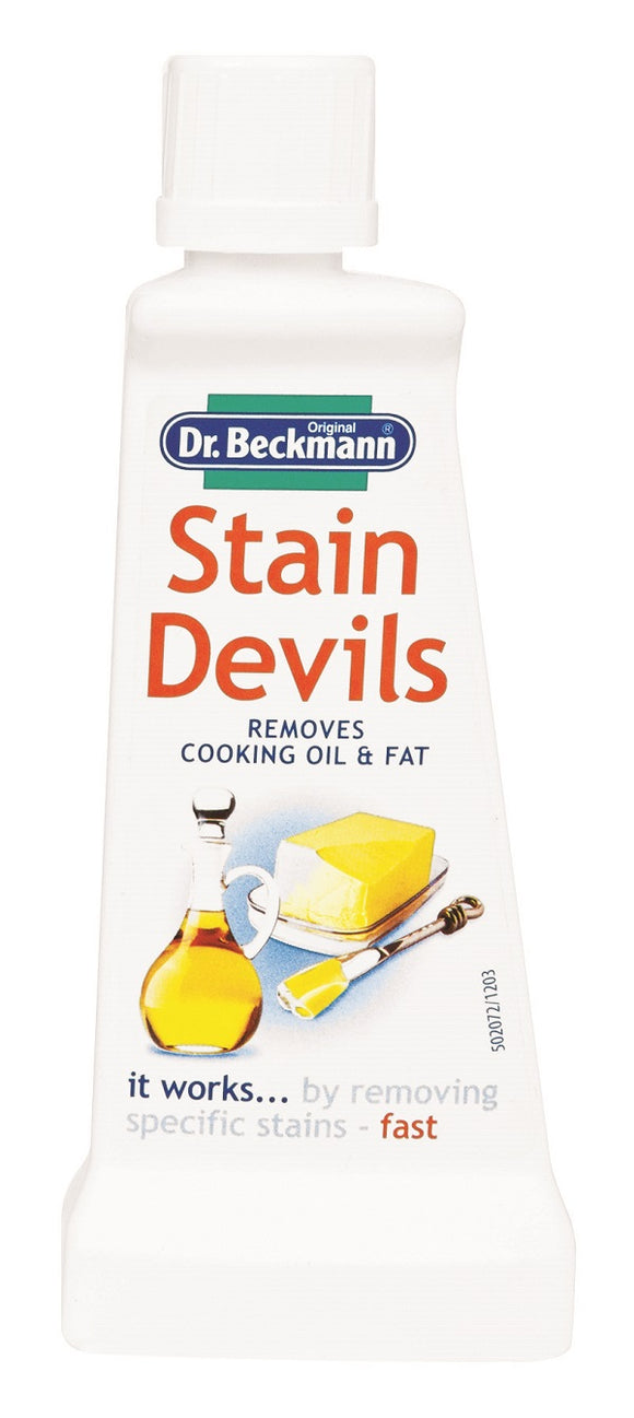 Dr Beckmann Stain Devils Cooking Oil and Fat 50ml