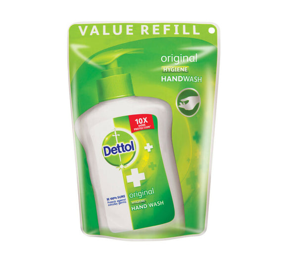 Dettol Hygiene Liquid Hand Wash Original Refill Pouch 200ml