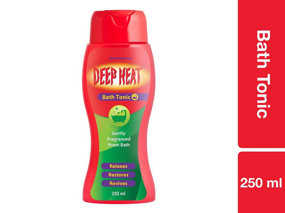 Deep Heat Bath Tonic 250ml