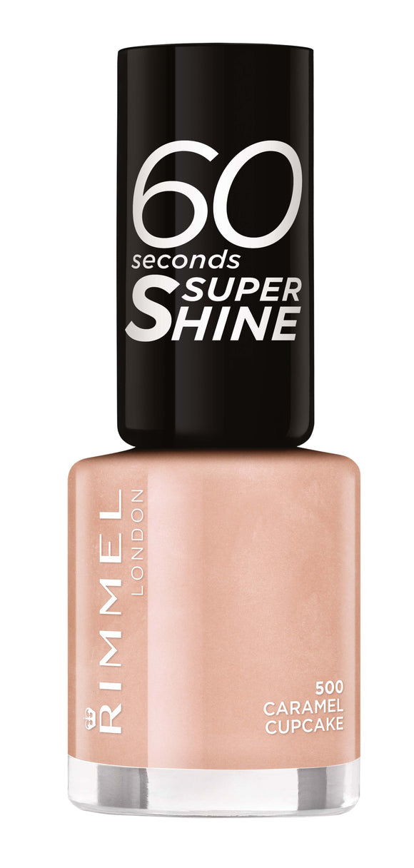Rimmel 60 Seconds Nail Polish 500 Caramel Cupcake