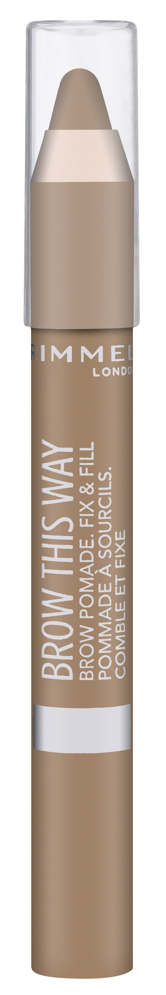 Rimmel Brow This Way Eyebrow Pomade 001 Light
