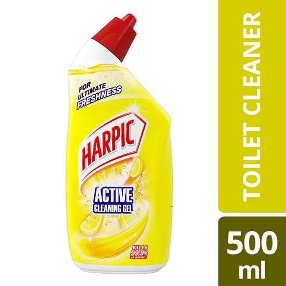 Harpic Active Cleaning Gel Citrus 500ml