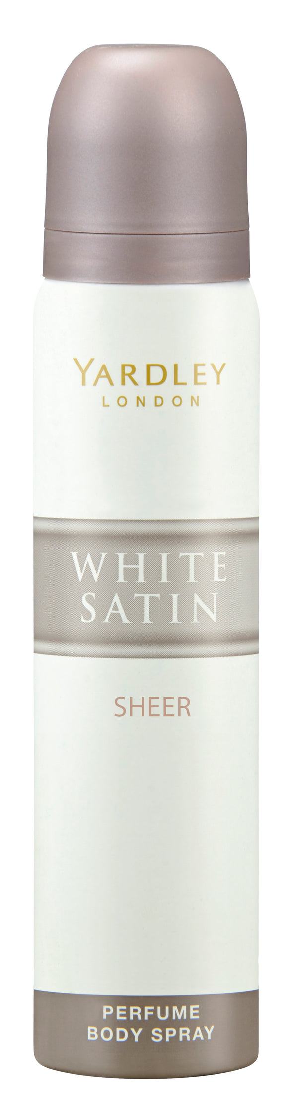 Yardley White Satin Perfume Body Spray Sheer 90ML
