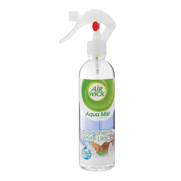 Airwick Aqua Mist Air Freshner Cool Linen and Almond 345ml