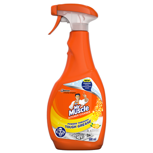 Mr Muscle Kitchen Cleaner Orange Trigger 500ml Pack of 6