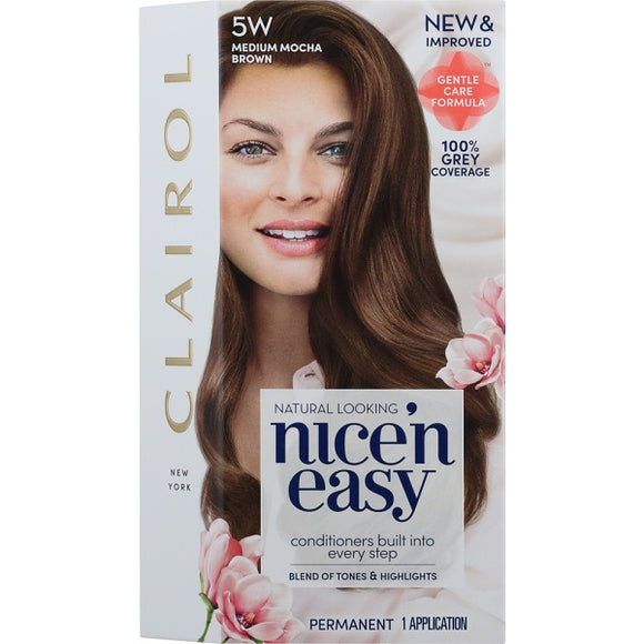 Nice and Easy Natural Medium Mocha Brwn 5w