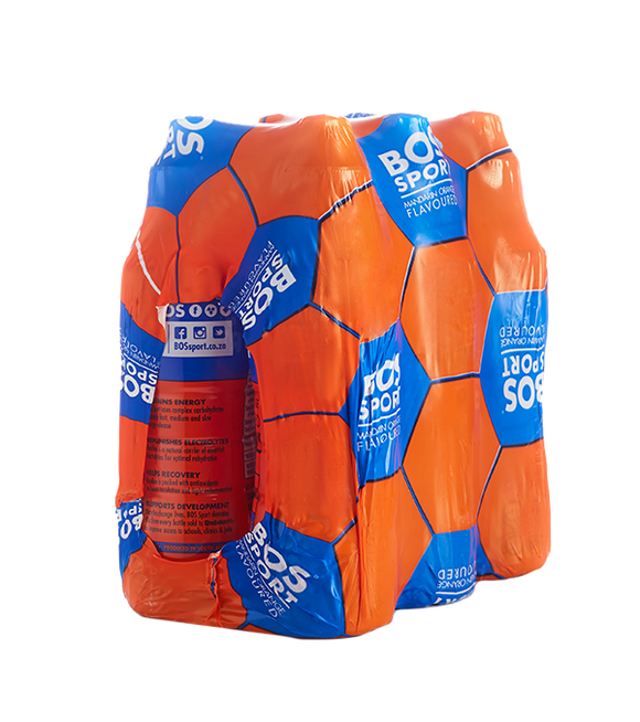BOS Sport 500ml Mandarin Orange 6pack