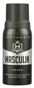 Lentheric Masculin Deodorant Body Spray Power 150ML