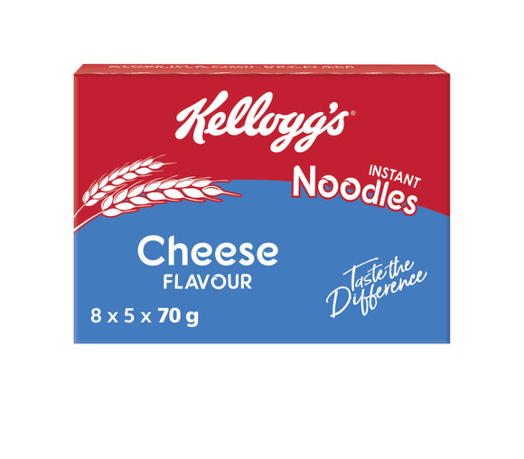 Kelloggs Cheese Noodles 70g (5 x 8) MultiPack