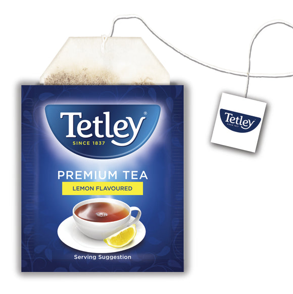 Tetley Lemon Tea Envelope and Tag 60s