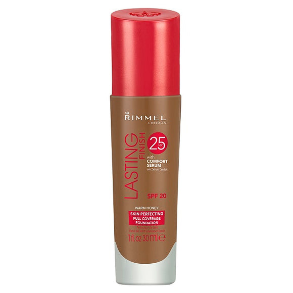 Rimmel Lasting Finish 25h Foundation Warm Honey