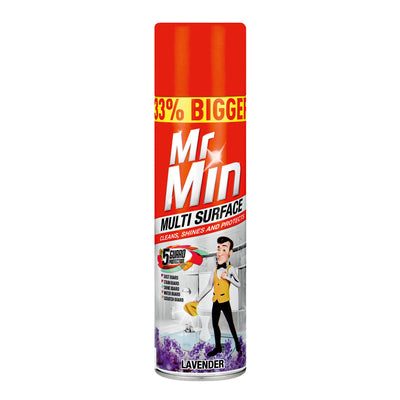 Mr Min Multi surface Lavender 400ml Case of 12
