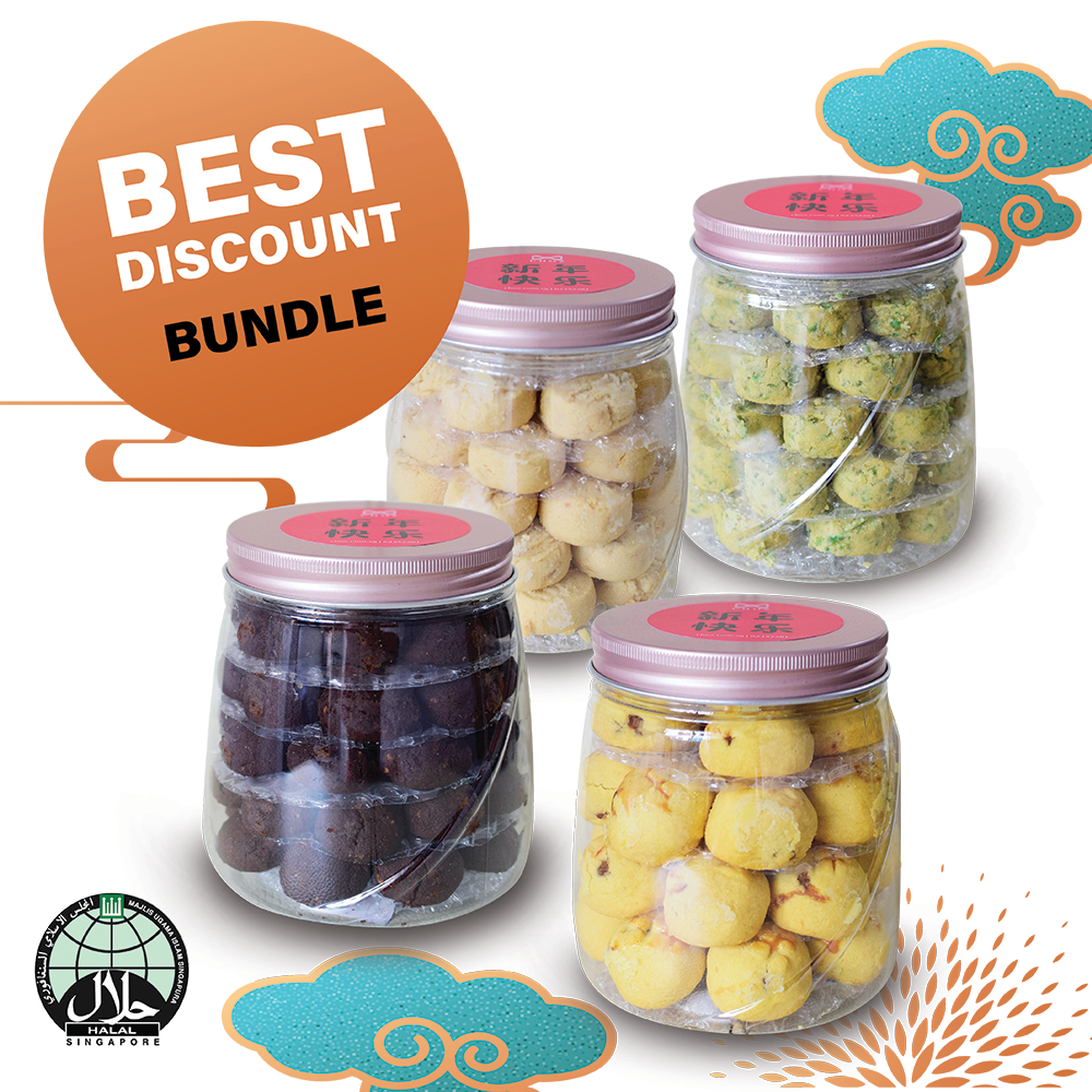 Bundle Cookies Set (4 Bottles)