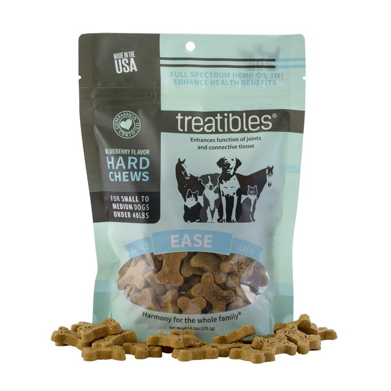 Treatibles Hard Chews Small/Medium Dogs