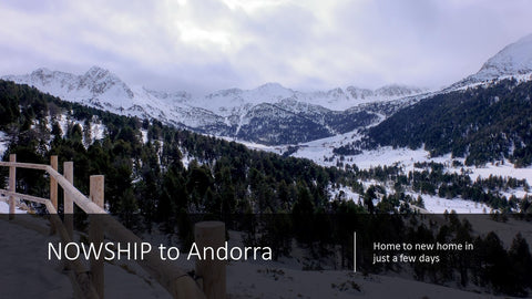 Moving to Andorra and customs clearance
