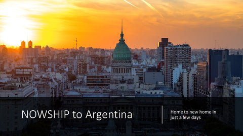 Moving to Argentina what documents are needed to clear customs in Argentina and apply for duty and tax free entrance