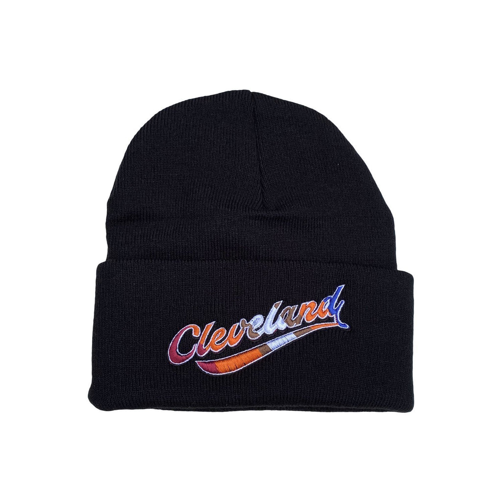 Cleveland Embroidered Beanie - Buckeye Shirt Co.