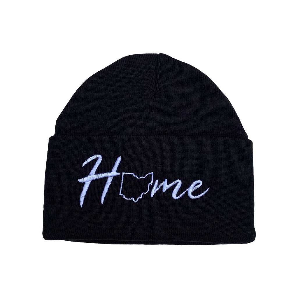 Home Embroidered Beanie - Buckeye Shirt Co.