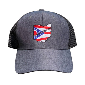 Homegrown Embroidered Hat - Buckeye Shirt Co.