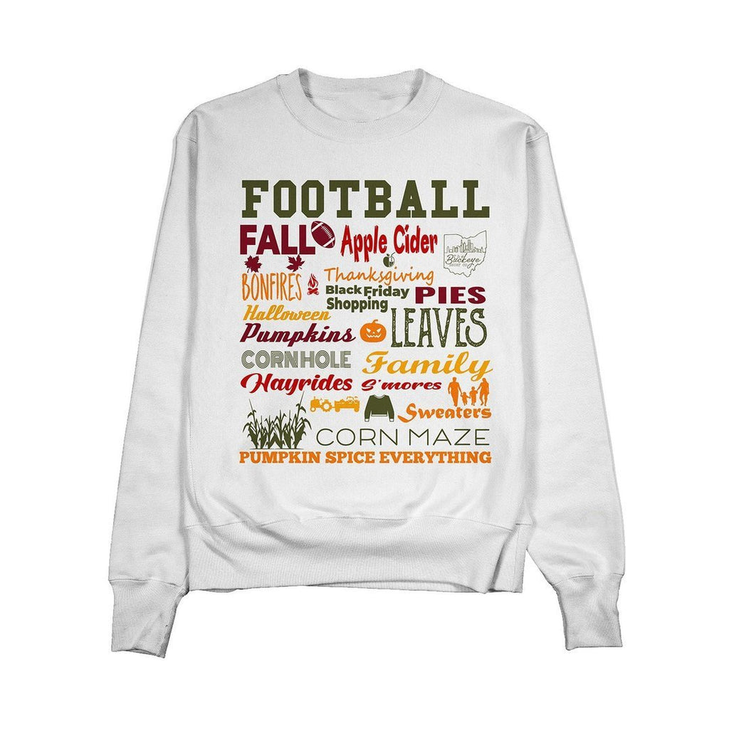 It's Fall Y'all Collage Crewneck - Buckeye Shirt Co.
